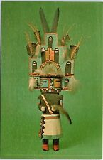 Postcard NY Humis Kachina Figurine Hopi Tribe Museum Of The American Indian AD80