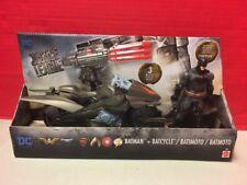 DC Comics Justice League Batman + Batcycle Mattel Action Figure Super Hero Toy