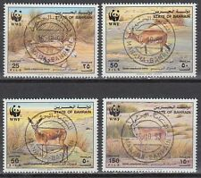 Bahrain 1993 used Mi.511/14 Tiere Animals Gazelle Naturschutz Protection [g2179]