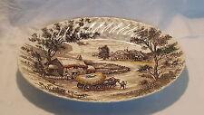 Stoneware British Date-Lined Ceramic Platters