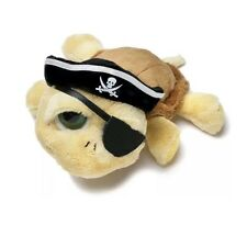 """RUSS BERRIE LIL PEEPERS SHELLY PIRATE 10"""" STUFFED PLUSH CUTE ADORABLE RARE NEW"""