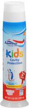 Aquafresh Kids Bubblemint Toothpaste 2+ Pump 4.6 oz