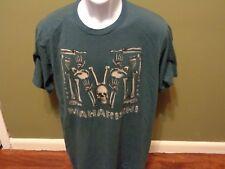 MAHARISHI London 'Cavalera' Men's Designer Skull Print T-Shirt XXL