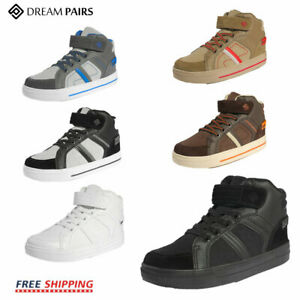 DREAM PAIRS Kids Boys Girls High Top Sneakers School Running Shoes Sports Shoes