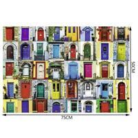 Creative Door Educational 1000 Piece Jigsaw Puzzle Kids Adults csjlds F6W2