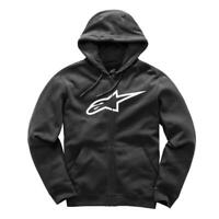 ALPINESTARS | MENS AGELESS ZIP HOOD (CHARCOAL HEATHER)