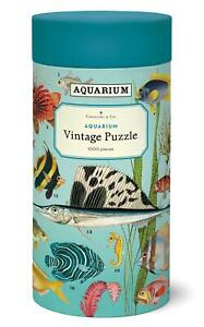 Cavallini - Vintage Jigsaw Puzzle - 1000 Pieces - 55x70cms - Aquarium/Fish