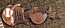 Hard Rock Cafe Yankee Stadium Core 3D Skyline Guitar Pin New LE MLB New York