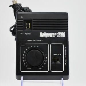 MRC HO N Train Railpower 1300 AC/DC Power Supply Speed Controller Model Train