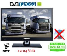 LED TV 15.6 Zoll 39,6cm Fernseher  DVB- C/S2/T2 HD 12 / 24V /230 Volt LKW