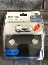 Craig 2GB MP3 Player w/Portable Amplified Speakers for iPods iPhone Laptops