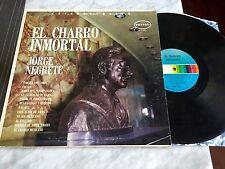 """Jorge Negrete """"El Charro Inmortal"""" LP 1970 Orfeón RANCHERAS CORRIDOS RARO OOP!"""