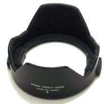Vintage Sigma Perfect Hood 52mm Clip On Lens Shade Hood Made Japan Lightly Used