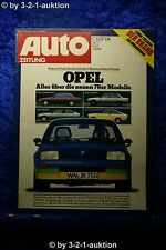 Auto Zeitung 23/77 Opel Kadett GT/E VW Bulli  BMW 320 + Betti Poser (320 Turbo)
