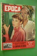Période 1957 Audrey Hepburn + Flood Val De Susa + Verona En Série À + Richard !