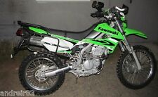 Kawasaki KLX 250 Complete rack system, luggage rack system Black Mmoto MM68