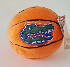 FLORIDA GATORS STUFFED PLUSH BASKETBALL 4""