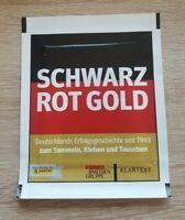 Panini 1 Tüte Schwarz Rot Gold Bustina Pochette Pack Sobre Packet