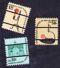 (10070) U.S./US: nice singles of Bureau precancels 1606, 1608, 1610, MNH