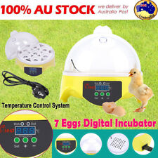 7 Eggs Incubator Digital Poultry Chicken Duck Hatcher Temperature Control System