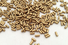 100x High Quality Lighter Flints Gold Colour Universal Clipper Petrol Lighters -