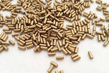 100x High Quality Lighter Flints Gold Colour Universal Clipper Petrol Lighters