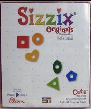 Sizzix Die Originals Eyelet Washers 1 Heart Square Scrapbook Diecut Card-making