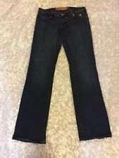 APPLE BOTTOM Jeans VINTAGE Gold Accent NELLY All Season Womens Ladies Size 7/8