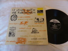 THE FOLKSWINGERS - 12 STRING GUITAR, FONTANA, 1960S, EX/EX , LP