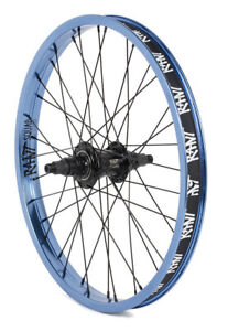 RANT MOONWALKER REAR FREECOASTER WHEEL BMX BIKE FIT DK CULT HARO SHADOW LHD BLUE