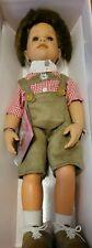 "NEW Gotz 18"" Peter Bavarian Dressed Boy Doll in Lederhosen Outfit w/Orignal Box"