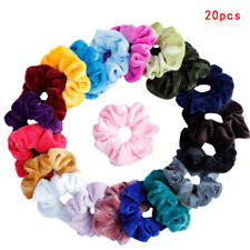 20Pcs Velvet Elastic Hair Bands Braider Hair Accessories Women Girls Hair RiHC