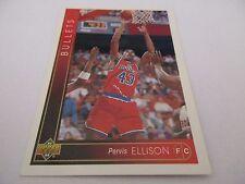 Carte NBA UPPER DECK 1993-94 FR #109 Pervis Ellison Washington Bullets