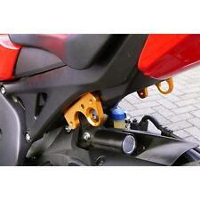 Sato Racing Street Hooks Aluminum Anodized Gold for Honda 08+ CBR1000RR Non ABS