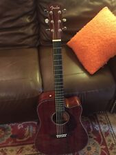 Fender CD-140SCE  All-Mahogany Acoustic/Electric Guitar