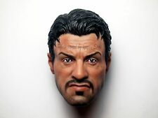 Custom 1/6 Barney Ross Head Sculpt Hot Expendable 2 Toys Stallone Lee Christmas