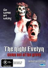 The Night Evelyn Came Out Of The Grave (DVD, 2013)-REGION 4 NEW