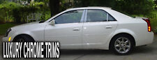 Cadillac CTS Stainless Steel Chrome Pillar Posts by Luxury Trims 2003-2007 (6pc)