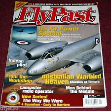 Flypast 2004 April Auster,USAF,RAF 4 Squadron,Gannet,Vulcan,Norway