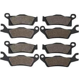 Front Rear Brake Pads For Can Am Outlander450 L 500 650 Max Mmr 800 R 1000 13-16