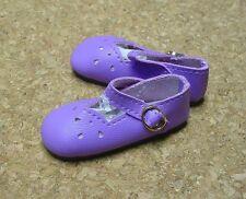 "Doll Shoes, SLIM*  58mm LT PURPLE Girl Dressy - fits 14"" Kish"