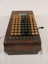 Vintage Antique Comptometer Adding Machine Felt Tarrant 1920s
