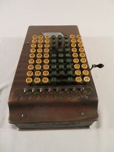 Vintage Antique Comptometer Adding Machine Felt Tarrant 1920s