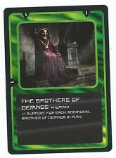 Doctor Who Black Border CCG Card The Brothers Of Demnos Human Card Good