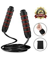 Jump Rope, Workout Skipping Rope Tangle-Free with Ball Bearings