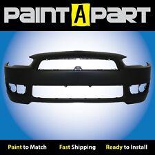 2008 2009 2010 2011 Mitsubishi Lancer (DE, ES) Front Bumper (MI1000324) Painted