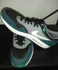 Nike Air Max Sz 13 Hunter Green/Gray/White&Black Shoe/Sneaker Model #537383-0132