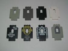 Lego ® Panneau Cloison Parroie Chateau Panel Castle Wall Choose Color 4444