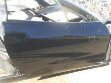 05-13 C6 Z06 Corvette Right Door 2009 Passenger Black Z06 Door w Glass Regulator