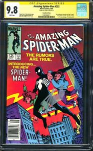 AMAZING SPIDER-MAN 252 STAN LEE CGC SS 9.8 75¢ CANADIAN PRICE VARIANT FANTASY 15